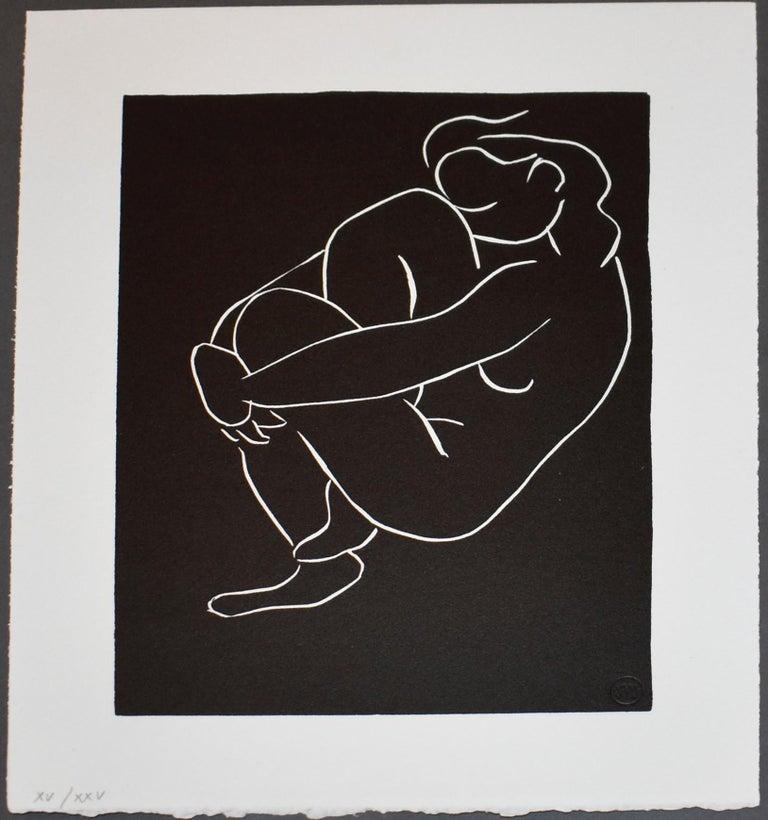 Henri Matisse Portrait Print - Pasiphae Plate 53