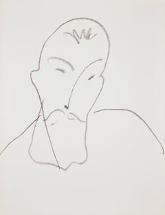 Portrait de Jean-Antoine Nau, from Poesies Antillaises