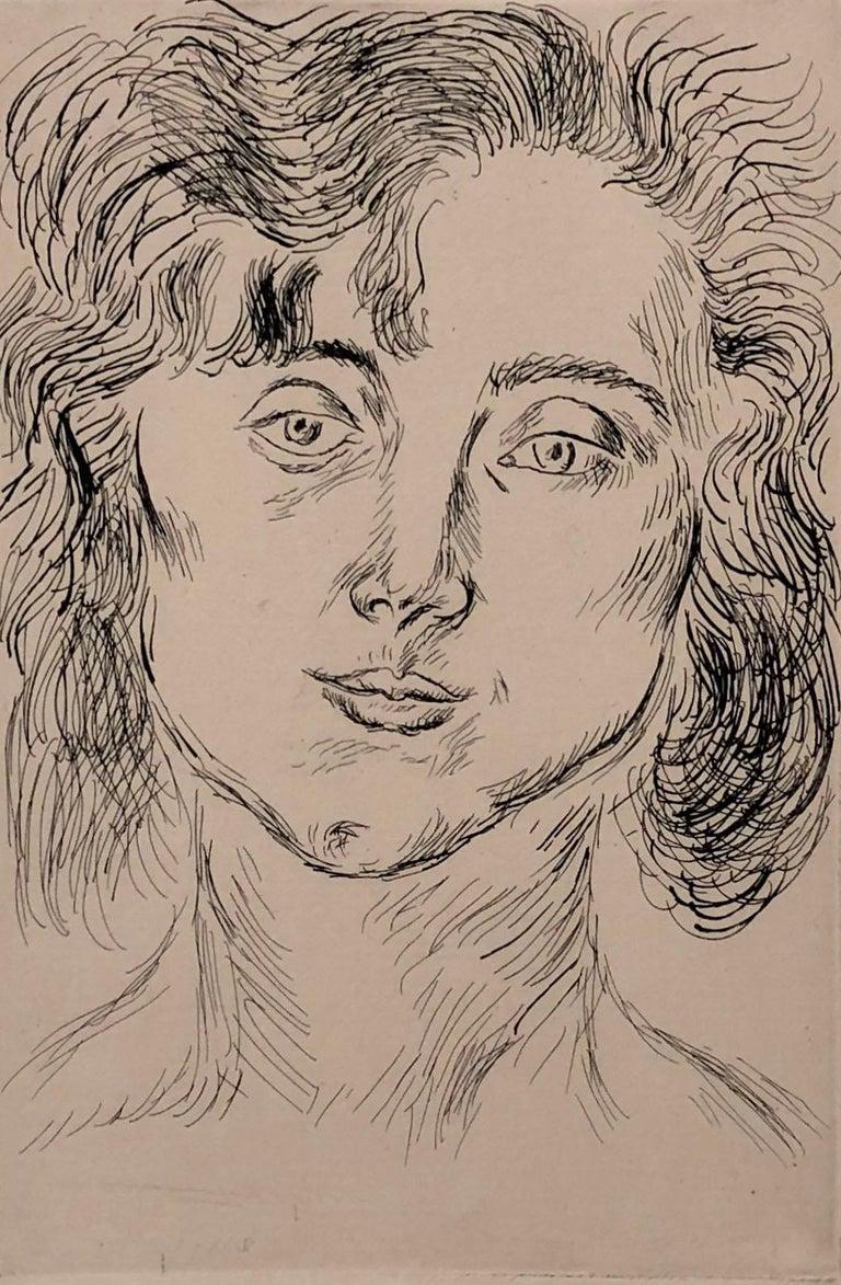 Portrait of Mlle. Marguerite Matisse - Print by Henri Matisse