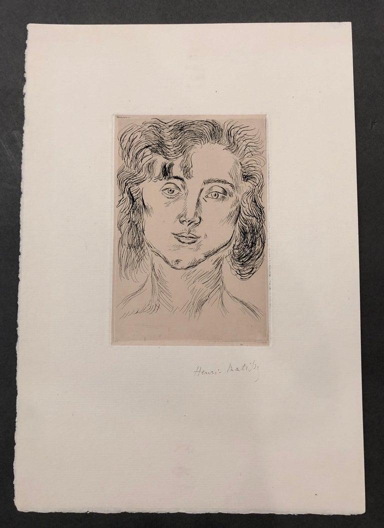 Portrait of Mlle. Marguerite Matisse 1