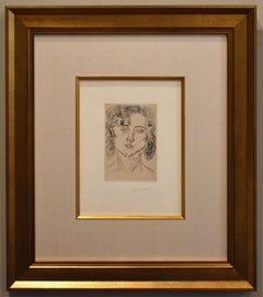 Portrait of Mlle. Marguerite Matisse