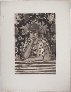 Spanish Woman - Etching (Vollard 1925)