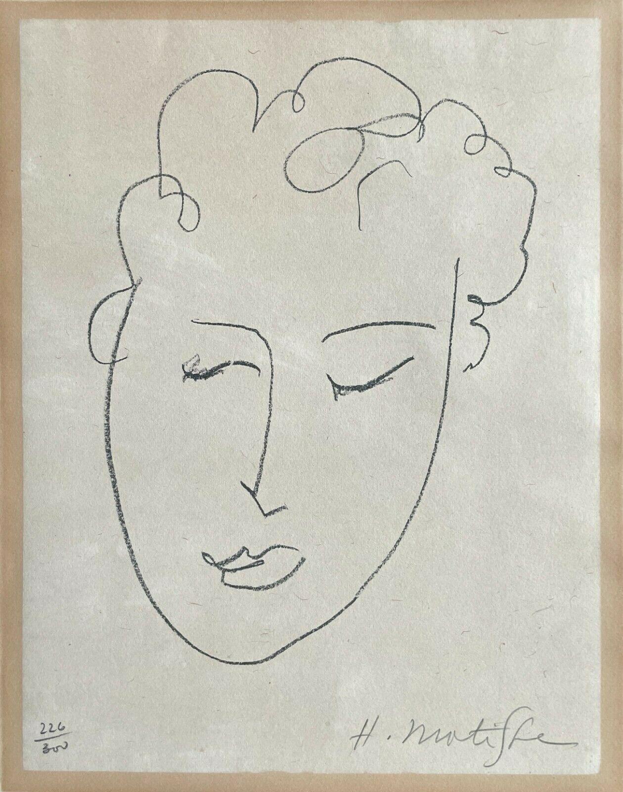 Tête de Femme (Fribourg livres illustrés 25; Claude Duthuit 23), 1948