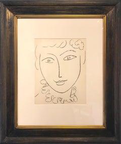 Tête de Femme (frontispiece from Portraits)