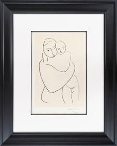 """""""Virgin and Child"""" by Henri Matisse"""