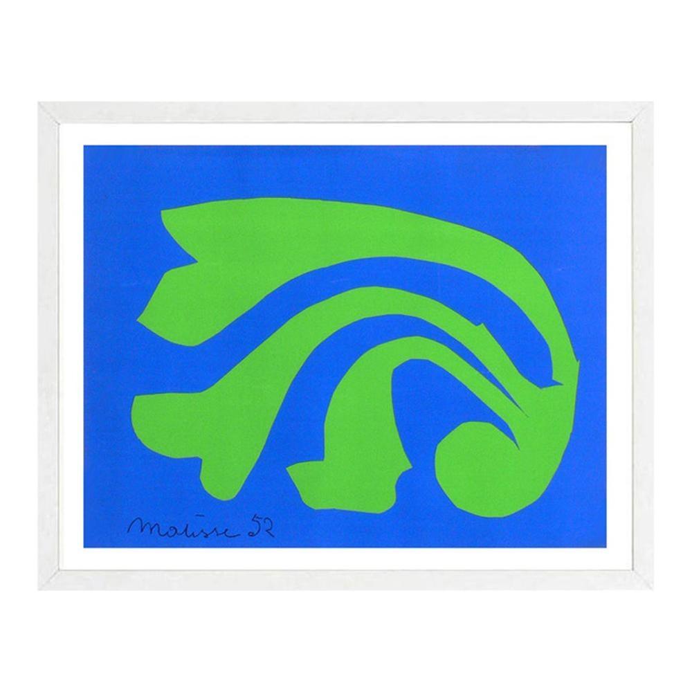 Henri Matisse Vibrant Large Scale Lithograph