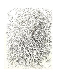 Henri Michaux -  Beach - Original Lithograph