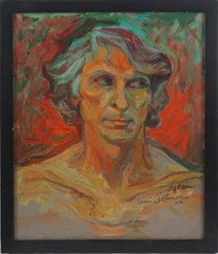 Fauvist Portrait of Ogden