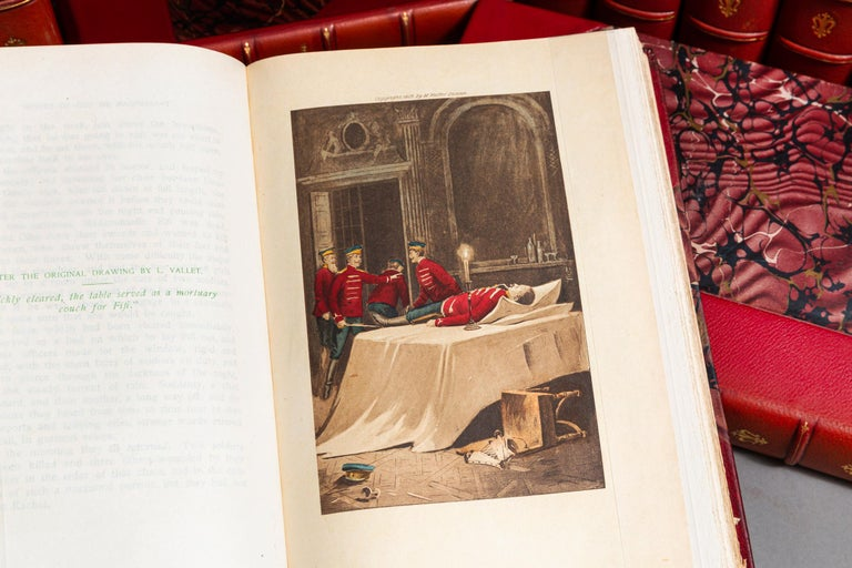 17 Volumes. Guy DeMaupassant. Works. Illustrated From original Drawings By Eminent French & American Artists, Some In color.