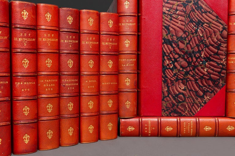 Henri R. Guy DeMaupassant, Works In Good Condition For Sale In New York, NY