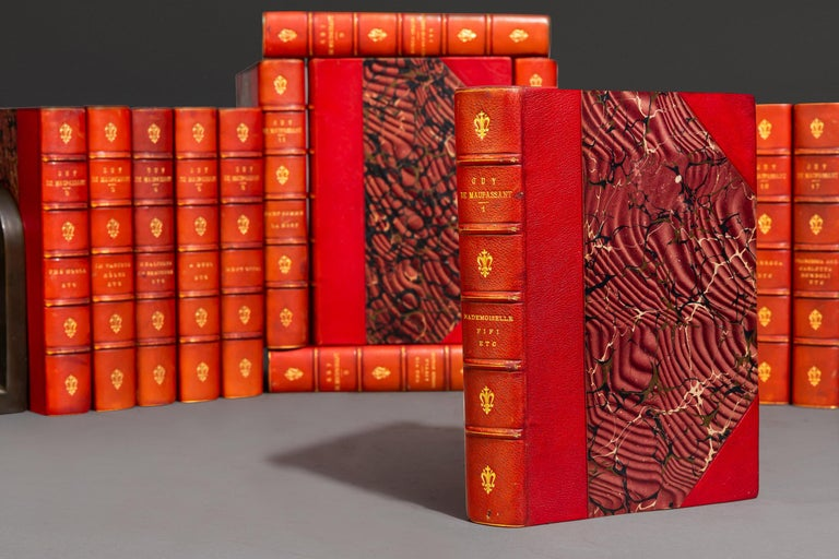 Leather Henri R. Guy DeMaupassant, Works For Sale