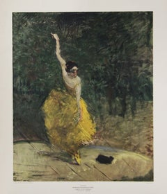 Danseuse-Poster. New York Graphic Society. Printed in Holland.