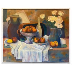 "Henri Valachman ""L'instant Fragile"" Oil on Canvas"