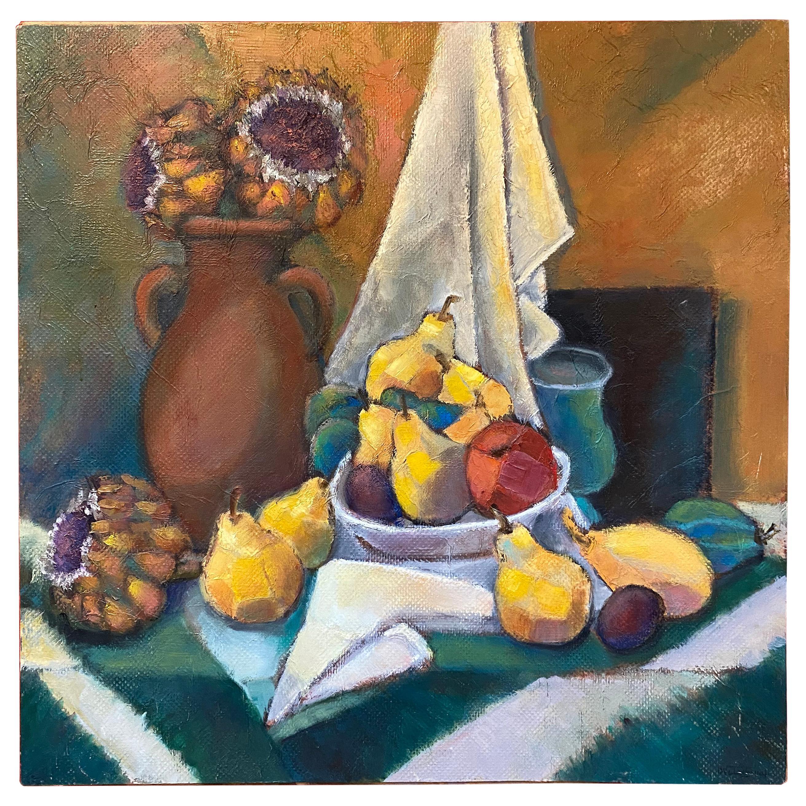 "Henri Valachman "" nature morte "" Oil on Canvas"