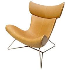 "Henrik Pedersen ""Imola"" Lounge Chair Leather"