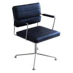 Henrik Tengler, HT 2012 Black Leather Time Chair by One Collection