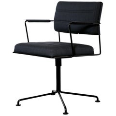 Henrik Tengler, HT 2012 Black Upholstery Time Chair by One Collection