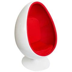 Henrik Thor Larsen Ovalia Egg Chair, Sweden, 1968