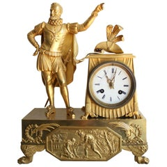 Henry 4 French Restauration Clock
