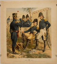 General, Staff & Line Officers, Light Artillery (1813-1816); XIV 1813-1821