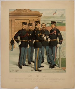Non Commissioned Officers-Staff Corps & Engineers (Full Dress); XIII 1902-1907