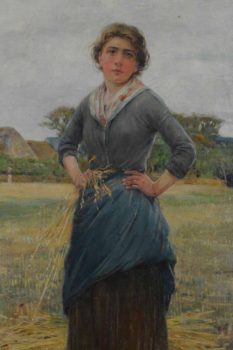 Woman in a Field For Sale 1
