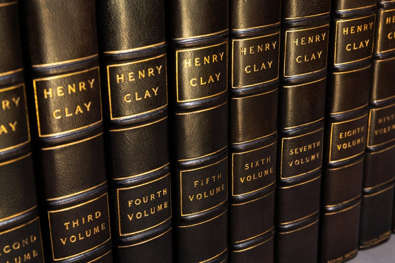 Early 20th Century  Henry Clay, The Works, Comprising His Life, Correspondence and Speeches For Sale
