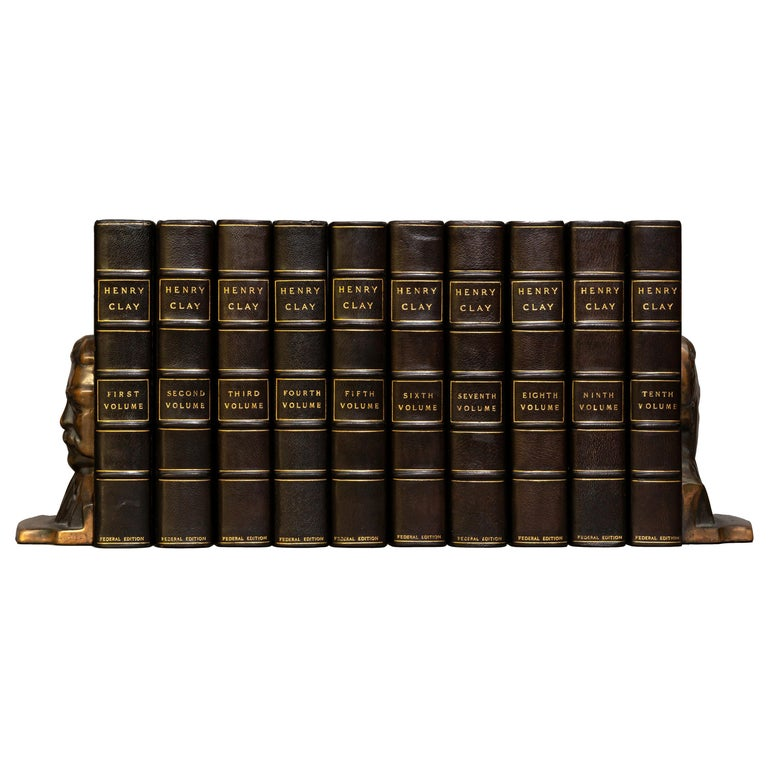 Henry Clay, The Works, Comprising His Life, Correspondence and Speeches For Sale
