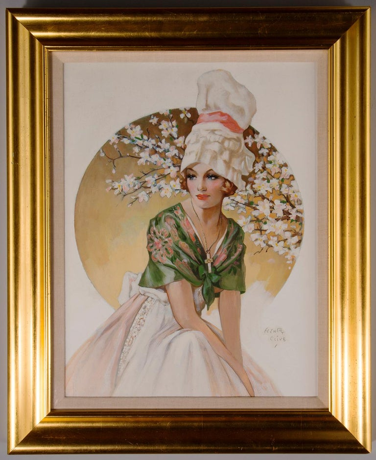 Henry Clive Portrait Painting - Global Glamour - Normandy