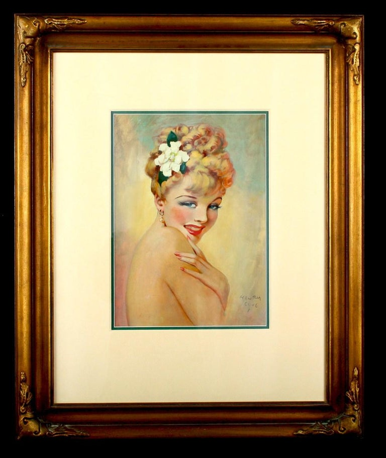 Mademoiselle from Armentières - Art Deco Painting by Henry Clive