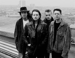 U2, BBC, London, England, 1987
