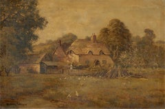 Henry Cooper  - Signed Early 20th Century Oil, The Rural Cottage