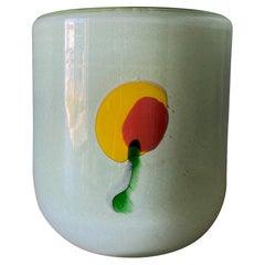 Henry Dean Art Glass Bowl, circa 1980
