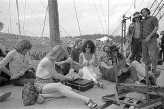 """Grace Slick """"Woodstock"""", Bethel, NY 1969"""