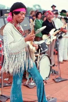 Jimi Hendrix Woodstock, NY, 1969