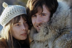 Joni Mitchell and Graham Nash, Big Bear, CA, 1969