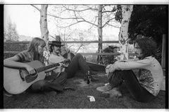Joni Mitchell, David Crosby, and Eric Clapton, Laurel Canyon, 1968