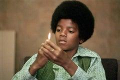Michael Jackson with Flame, 1971