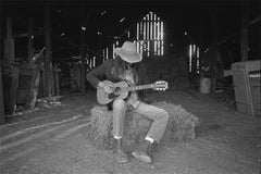 Neil Young, Barn at Broken Arrow Ranch, 1971