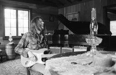 Neil Young, Laughing, Broken Arrow Ranch, Half Moon Bay, CA 1971