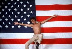 Richard Pryor, American Flag, 1968