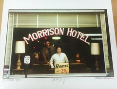 """The Doors, Co-Sign """"Morrison Hotel"""" 50th Anniversary, Los Angeles, CA, 1969"""
