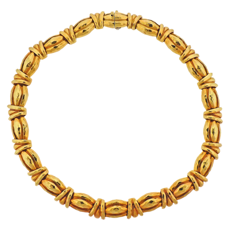 Henry Dunay 18 Karat Gold Necklace