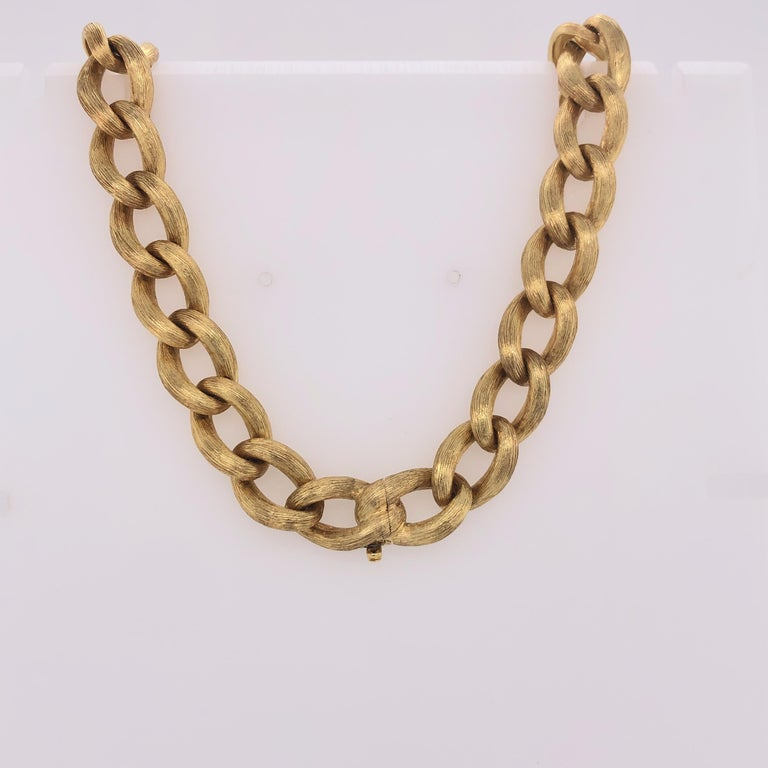 Modern Henry Dunay Yellow Gold and Diamond Sabi Necklace For Sale