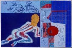 Modernist Avant-Gard Nude Figural by Henry Elinson