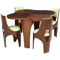 Henry Glass Cylindra Dining Set