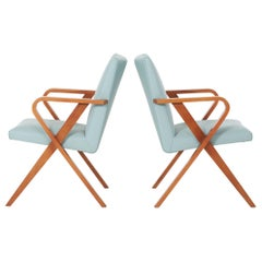 Henry Glass Pull-Up Chairs