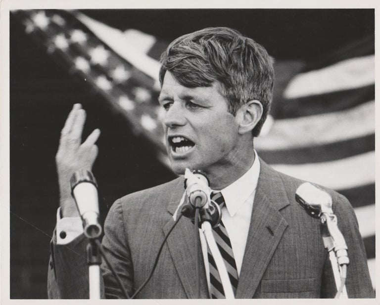 Henry Grossman, Bobby Kennedy, Election campaign, 1968 - Photograph by Henry Grossman