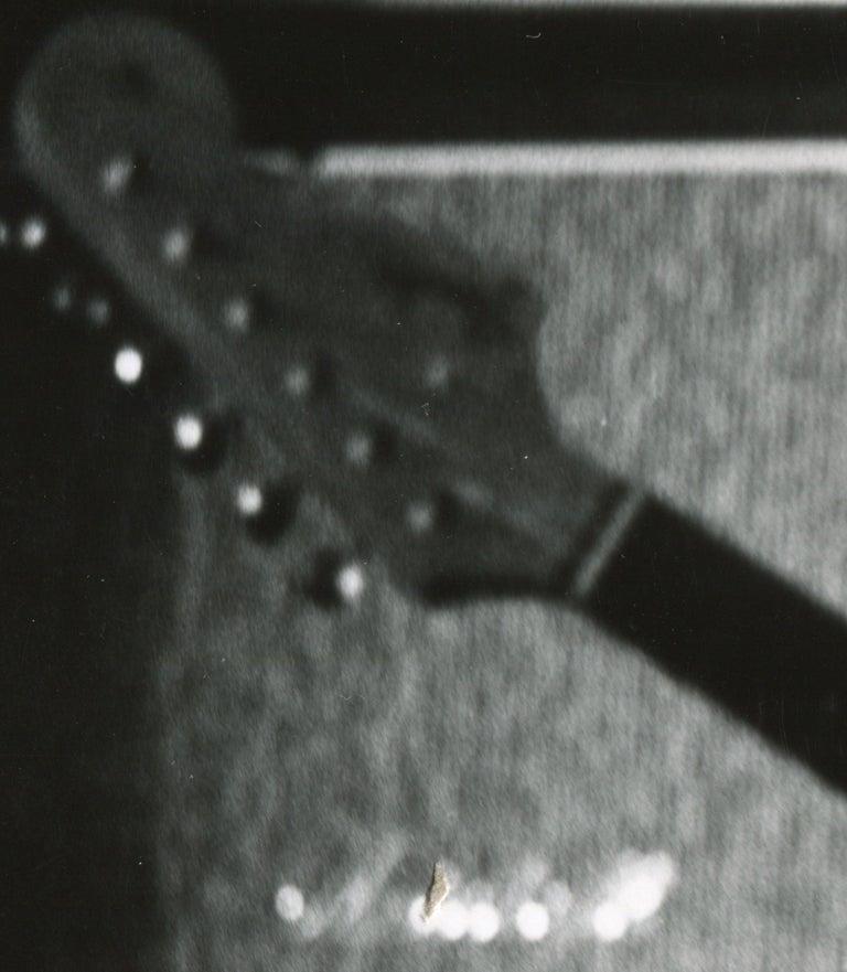 Jimi Hendrix live in concert - Modern Photograph by Henry Grossman