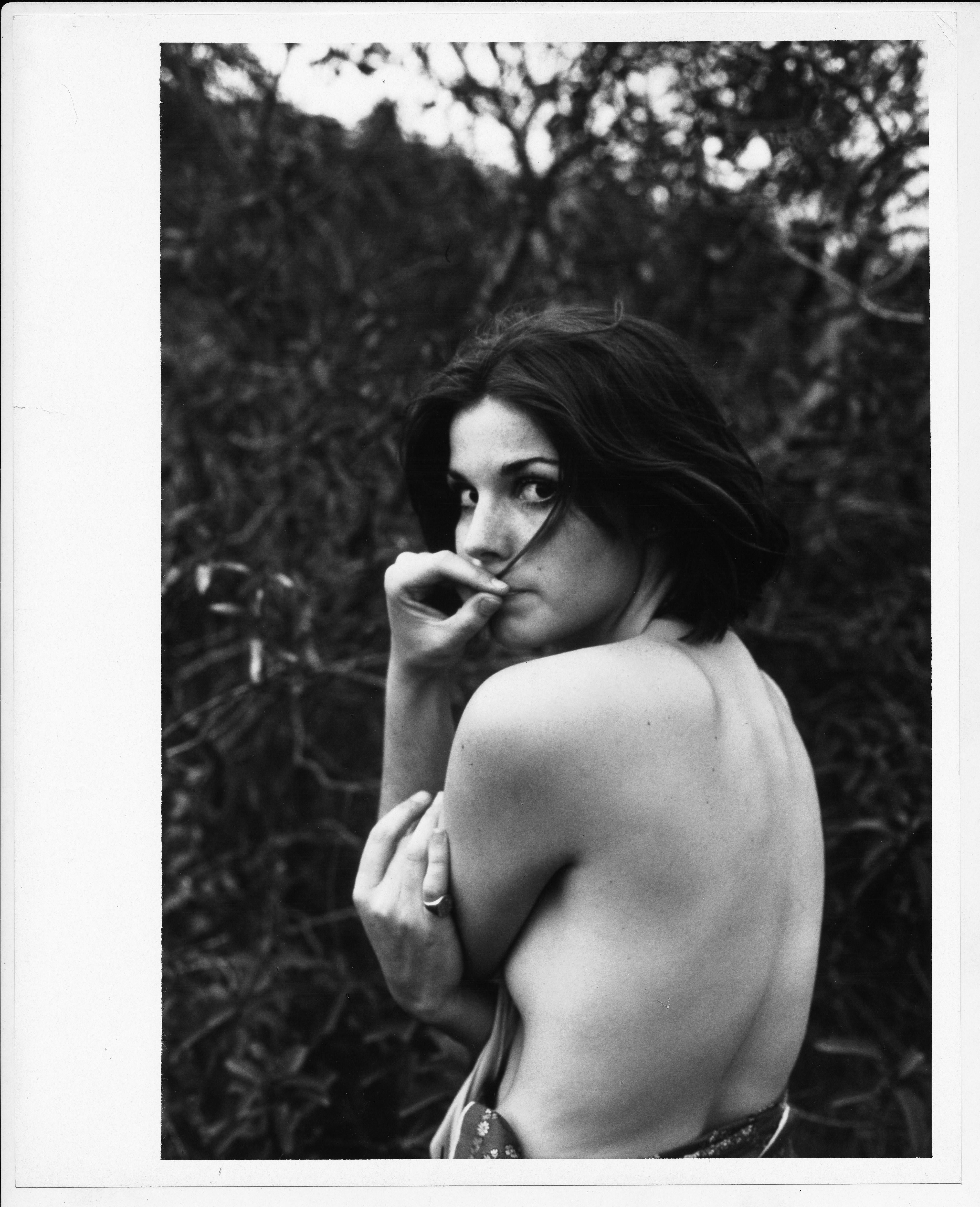 Nude - A photo story of Susan Saint James by Henry Grossmann, circa 1970s.